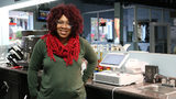 Raina Purvis, owner of Queens Coffee Bar