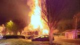 Firefighters battle 2-alarm blaze at east Charlotte apartment complex