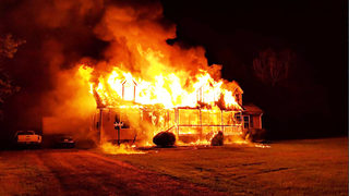 Mother, 5-year-old son injured when flames rip through family