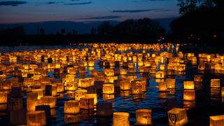 Water Lantern Festival lights up the night