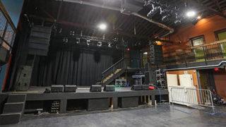 Inside a popular concert venue