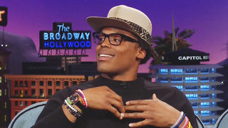 WATCH: Panthers QB Cam Newton cracks jokes on late night television