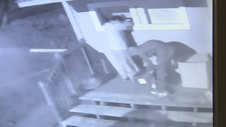 CAUGHT ON CAMERA: Thieves steal from charity drop-off bins