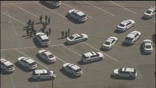 Police swarm Harding University High School parking lot after large fight