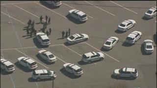 Police swarm Harding University High School parking lot after large fight