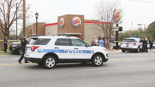 Officer shoots, kills armed man outside Charlotte Burger King, CMPD chief says
