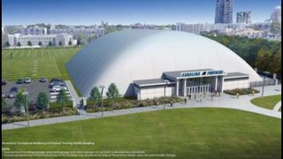 Panthers Practice Facility: Leaders discuss bringing light rail farther south