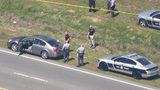 Officials: NC trooper shoots suspect during traffic stop