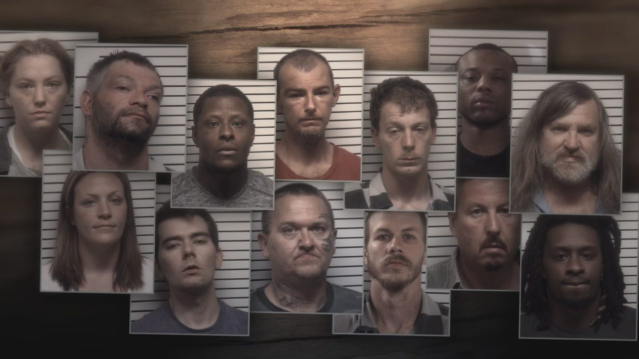 IREDELL COUNTY DRUG BUST: Spring Sweep 2019: Dozens arrested in