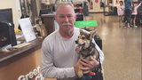 South Carolina firefighter adopts puppy he rescued from under pile of rocks