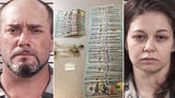 Man, woman arrested after deputy finds counterfeit cash, meth during traffic stop