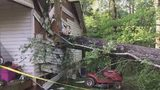 Grandfather injured after tree crashes through Gaston County home, family says