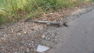 Dangerous debris found scattered along stretch of I-77