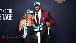Carolina Panthers select Florida State DE Brian Burns with 1st round pick