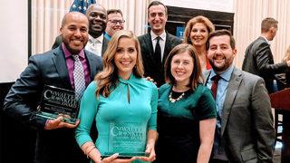 WSOC-TV honored with Walter Cronkite Award