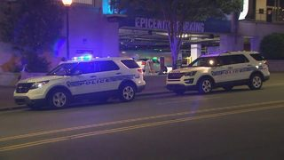 Charlotte security manager stabbed