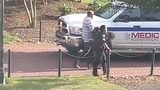 VIDEO: Person in handcuffs after UNCC shooting