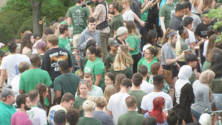 Thousands lean on each other for support at UNCC vigil