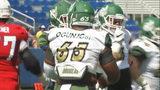 UNCC alum, NFL player Larry Ogunjobi finds new hero in Riley Howell