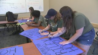 UNCC students participate in 'March for Our Lives