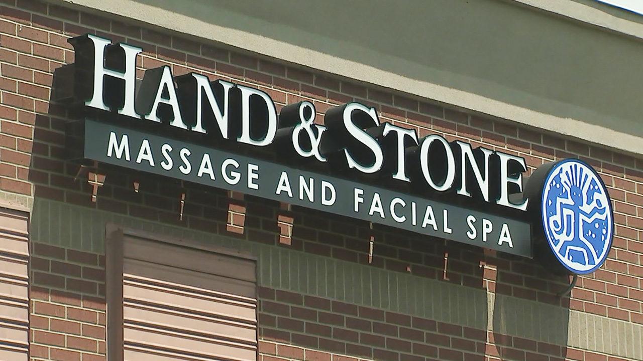 HUNTERSVILLE MASSAGE HAND AND STONE: 2nd masseuse at