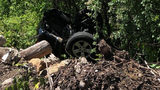 Driver leaves couple trapped in car after it crashes down an embankment in Granite Falls