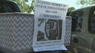 Charity ride benefits scholarship named for fallen Mooresville officer