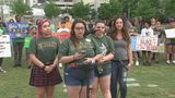 UNCC students urge city leaders to help address gun violence