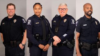 CMPD officers honored for their community devotion