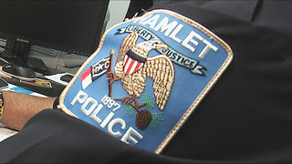 Hamlet police suspended from federal program over weapons snafu