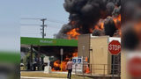 Vehicle fire causes massive explosion at NC gas station