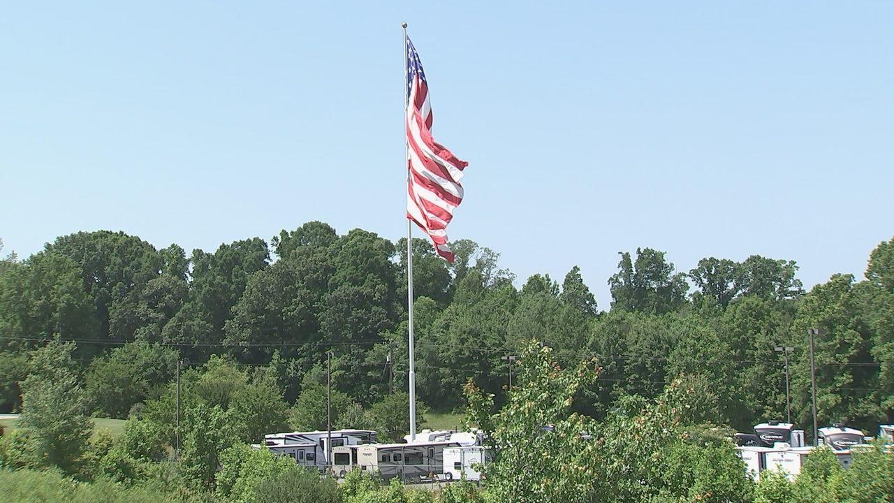 STATESVILLE AMERICAN FLAG: Vote: Statesville City Council