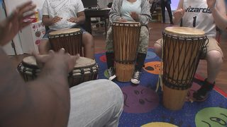 Local nonprofit believes drum therapy provides emotional outlet for kids
