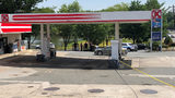 Car shot into with toddler inside at east Charlotte gas station, sources say