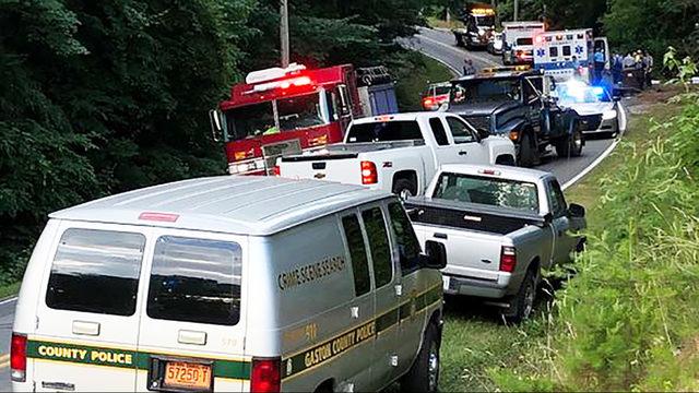 GASTONIA FATAL CRASH: Emergency crews on scene of deadly