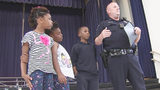 CMPD officer, students rally after boy loses father