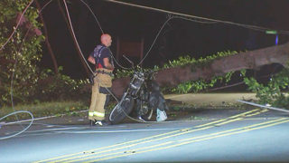HIGHWAY 73 FATAL CRASH:Motorcyclist killed after running