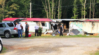 Deputies: Two people found dead after suspected arson at Alexander Co. home