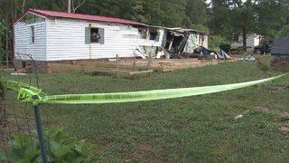 PHOTOS: 2 dead in Alexander County mobile home fire