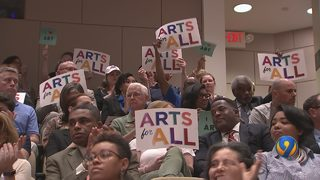 Mecklenburg County commissioners discuss sales tax increase for arts referendum