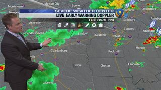 Tuesday night forecast by Meteorologist John Ahrens