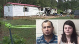 Sheriff: Mobile home fire was set to cover up slayings of mother, 2 children