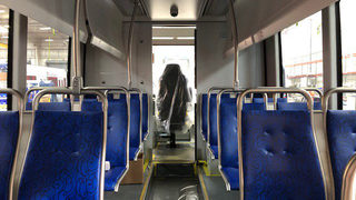 Transit system reveals sneak peek of new streetcar interior