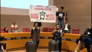 Handful of activists arrested after disrupting City Council meeting, Charlotte police say