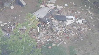 PLANE CRASHED INTO HOUSE: 2 dead, 1 injured after small