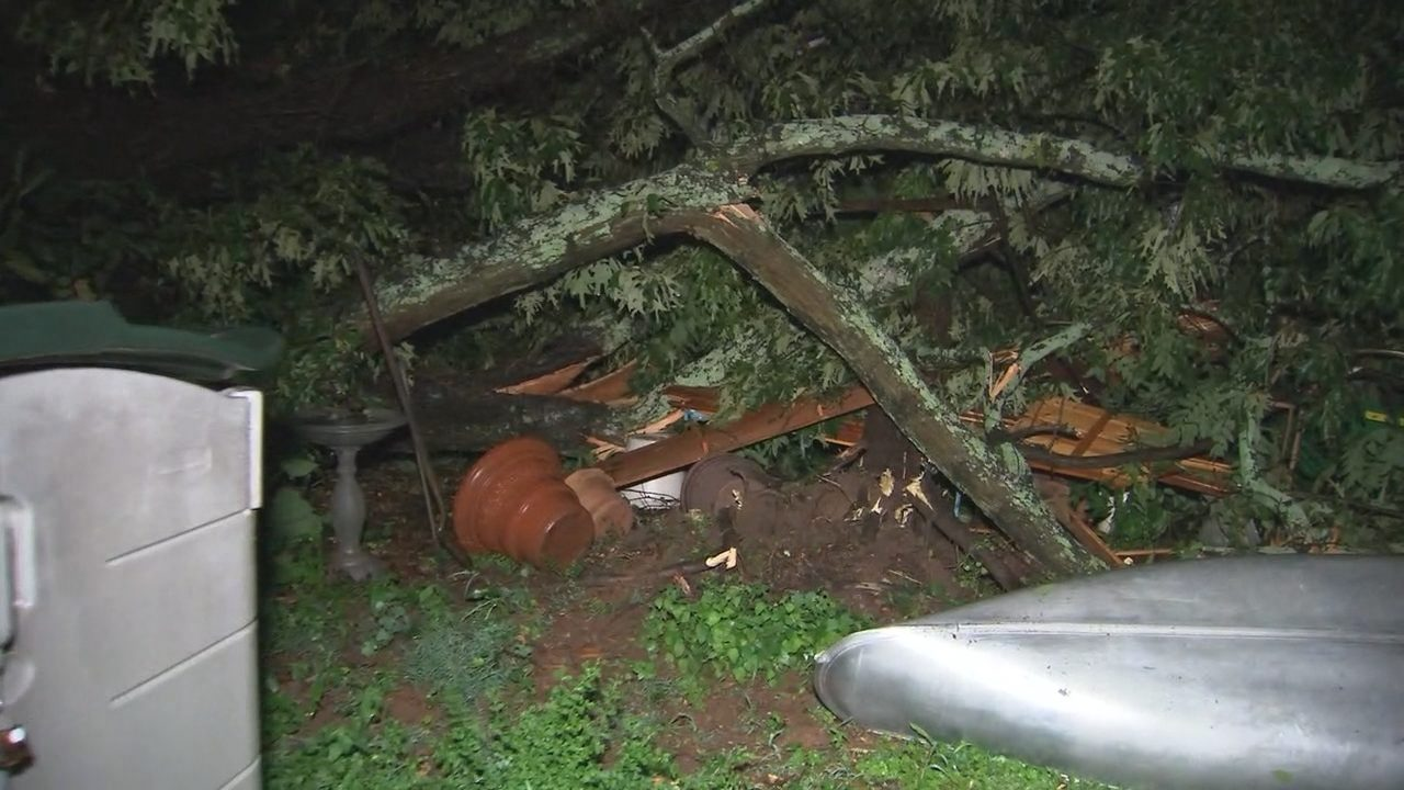 Microburst causes power outages across Charlotte area after