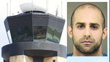 Charges dropped against air traffic controller suspected of having pipe bomb