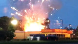 Firefighters dodge rockets as stored fireworks explode in Fort Mill