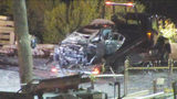 Police: Driver hit two women in uptown Charlotte before crashing on railroad tracks