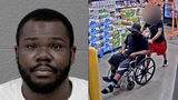 Suspect turned away from jail because of wheelchair taken into custody
